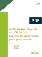 Cambio Climatico y Desarrollo en ESV 01