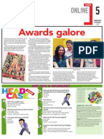 Awards galore