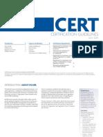 Cert Guidelines