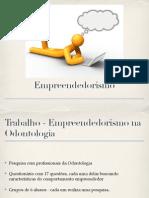 Empreendedorismo Na Odontologia