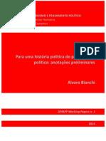 Para uma história política do pensamento político