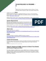 CADENCE SPB/OrCAD RELEASE 16.5 README
