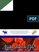 Niveles ideales de PaO2