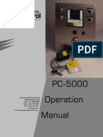PC-5000 Control de Lavadora Industrial GD