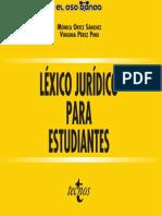 Léxico Jurídico Para Estudiantes