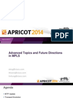 APRICOT2014 - Advanced Topics and Future Directions in MPLS