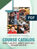 2015 Summer Seminar Catalog