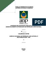 Contato de Exploração de Petroleo e Gas - Anp 2010