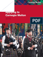 Carnegie Mellon Application Instructions Booklet 2014