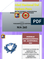 NIA 260
