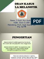PPT makula melanotik