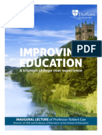 Improving Education 2013