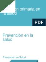 Atención Primaria en La Salud