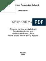 Operare PC