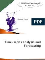 Time-series Analysis Forecasting 03