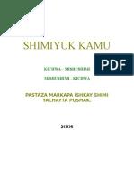 DICCIONAR. KICHWA PASTAZA