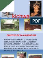 PRESENTACIO KICHWA TAPUY DIC