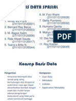 Basis Data Spasial