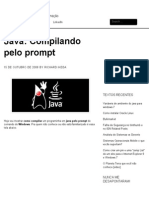 Java, Compilando Pelo Prompt _ Richard Ikeda