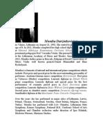 Monika Darzinkeviciute Biography