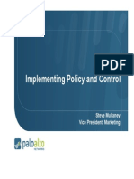 Implementing Policy and Control