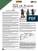 Flintloque Journals of Valon JOV01 Tuscan Elves