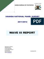 UNPS Report Wave3 2011-2012
