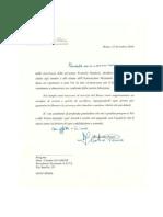 AUGURI Presidenta Nazionale e Ministero Interno