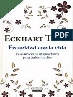 En Unidad Con La Vida Eckhart Tolle