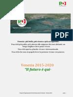 """Venezia 2015-2020 """"Il futuro è qui"""""""