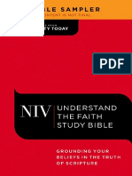 Understand the Faith Study Bible Sampler