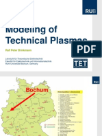 PSE2014-Tut 1 1 Brinkmann Modeling of Technical Plasmas