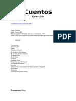 Gomez Efe - Cuentos