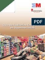 Guia de Auditorias Energeticas en Supermercados Fenercom 2013