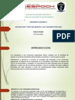 Declaracion y Pago Del ICE