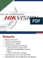 Certificacion Hikvision