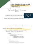 estudios geotectonicos para construcción de carreteras