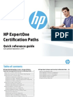 HP Expertone Certification Paths-libre