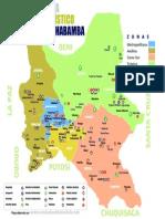Mapa Turistico Cochabamba
