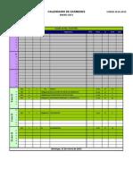 Calendario Exámenes GIC 2014-15