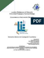 AAVV - Elementos Basicos de Investigacion Cuantitativa