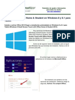 Win8 Act Office h&s Win8 Tablet