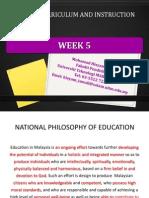 edu555 week 5 the school curriculum