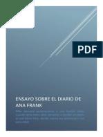 Ensayo El Diario de Ana Frank