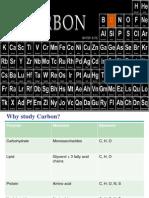 Unit 1 AP Lecture 4 Carbon Chemistry