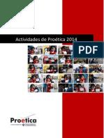 Actividades de Proética 2014