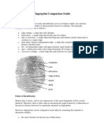 Fingerprints Comparison Guide