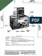 Collins 75A-1 Receiver SAMS Photofact