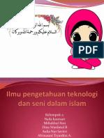 iptek dan seni dalam Islam.pptx