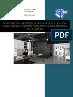 Informe de Agencia de Colocacion Para Estudiantes de Arquitectura